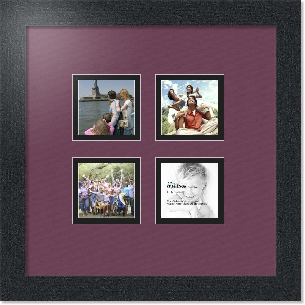 arttoframes collage mat picture photo frame 4 3x3