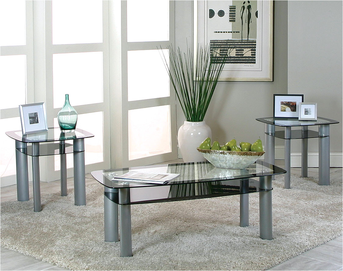 modern glass side and coffee tables valencia piece table set occ top end sets antique pedestal