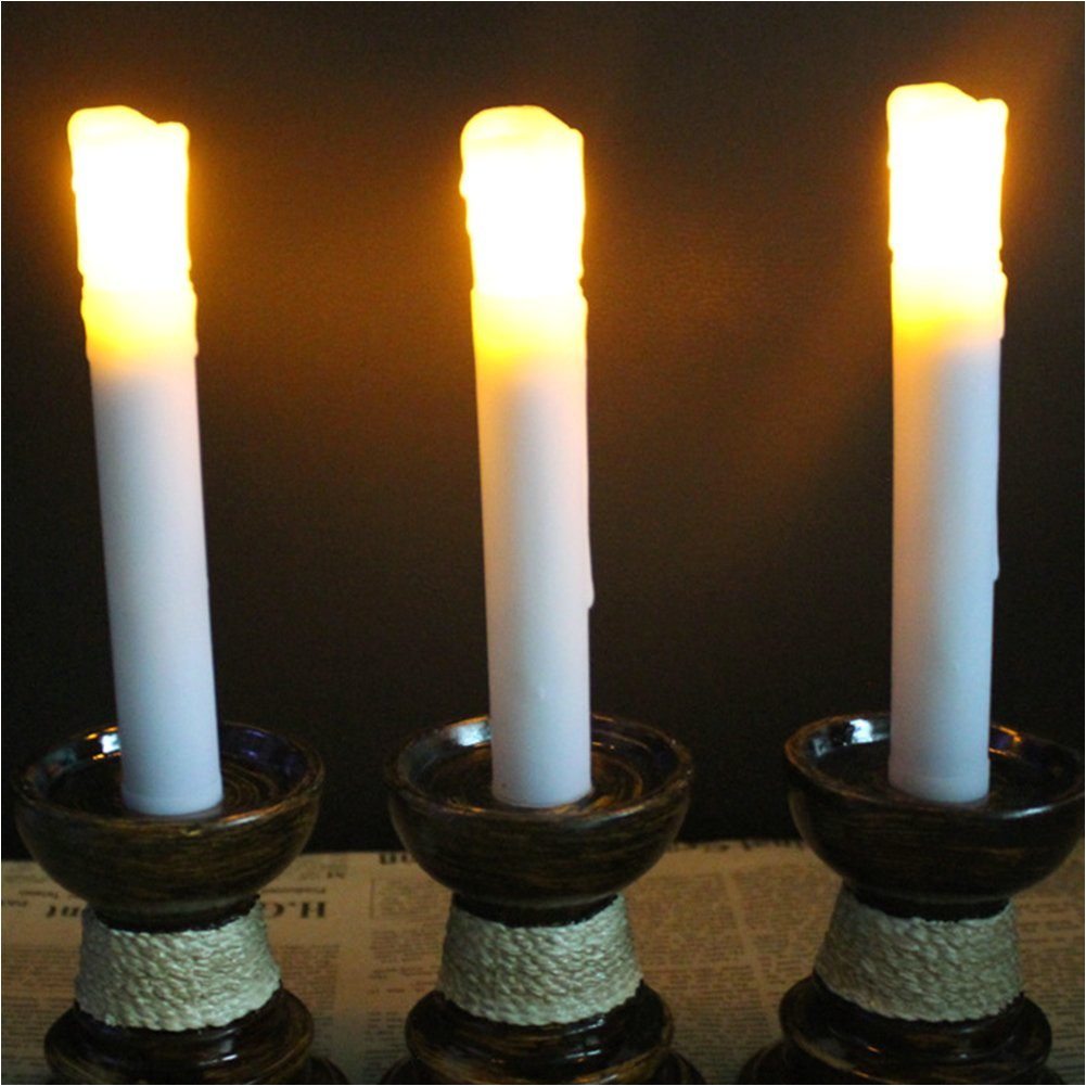 get quotations a 12 pack flicker flameless candle led wax candle light battery 0perated flameless pillar candles by