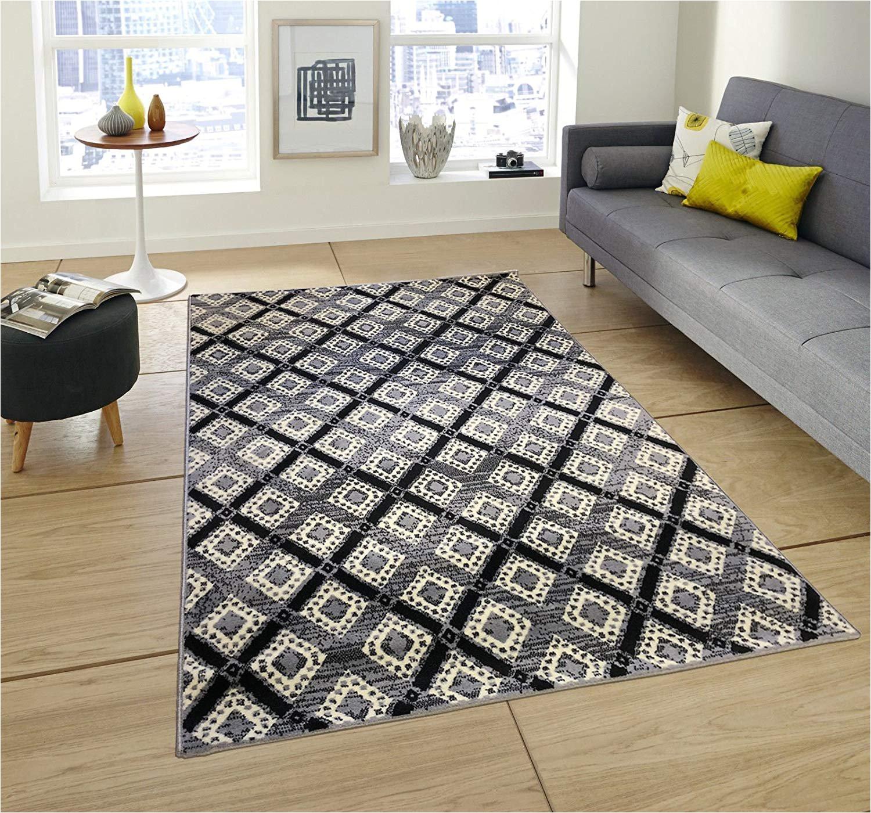 amazon com pyramid decor area rugs area rug gray area rug area rugs rugs for livingroom living room rug 2x5 area rugs diagonal tile design area rug