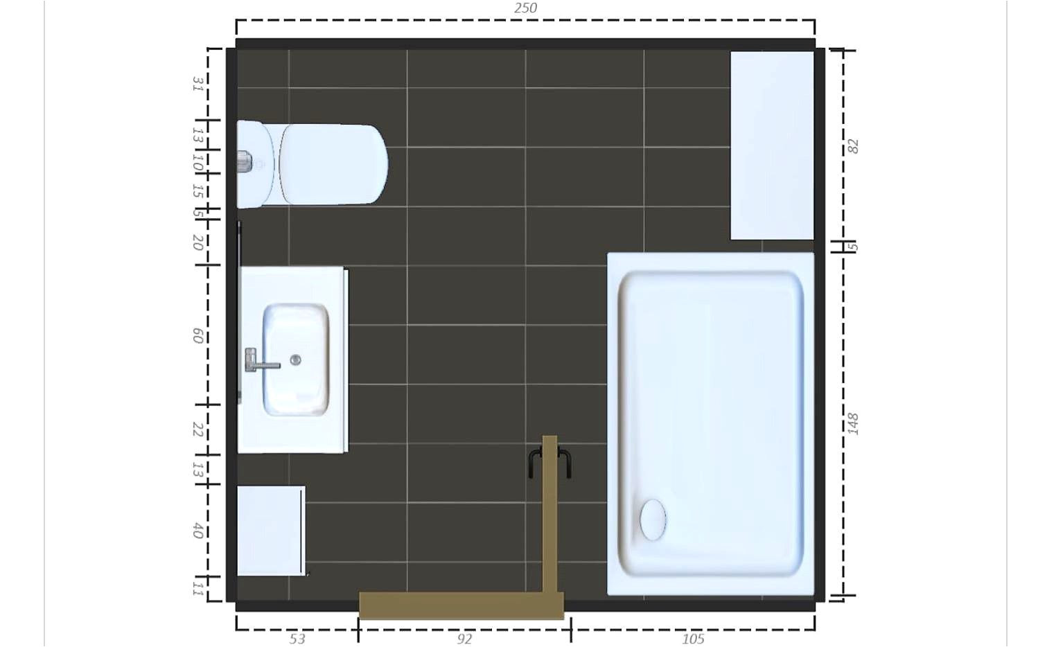 8×5 Bathroom Floor Plans 15 Free Bathroom Floor Plans You Can Use