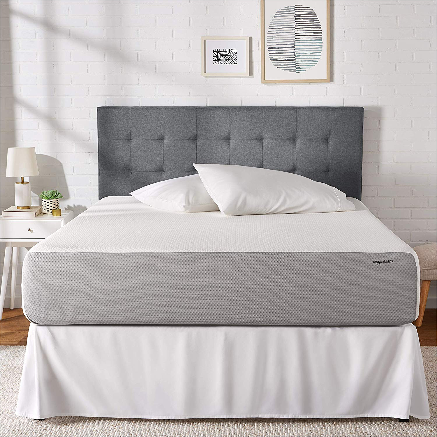 $99 Queen Mattress and Box Spring Amazon Com Amazonbasics Memory Foam Mattress soft Plush Feel