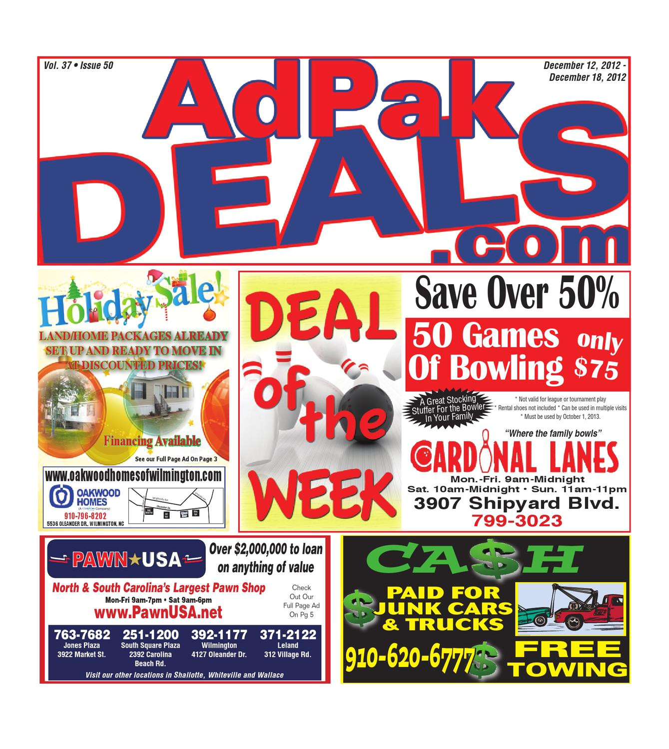 A Storage Place Shipyard Blvd Wilmington Nc 12 12 12 Adpak by Adpak Deals issuu