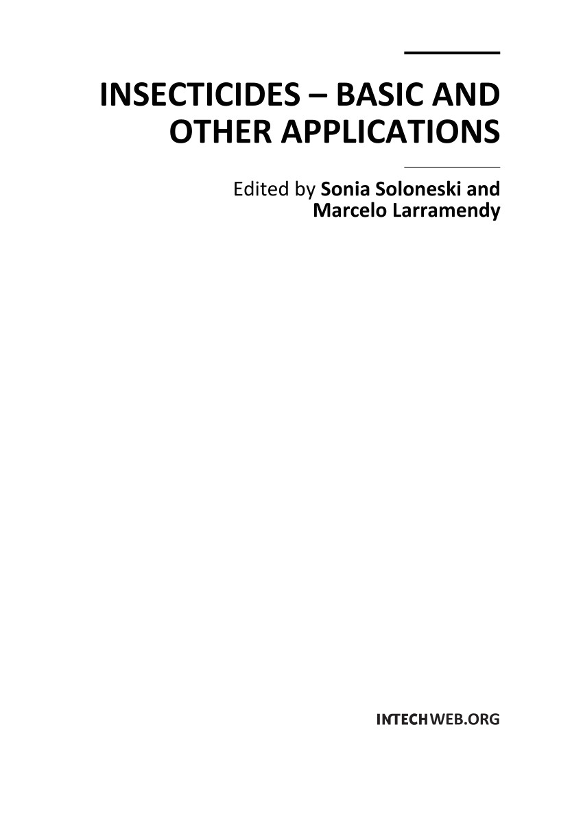 pdf insecticides basic and other applications