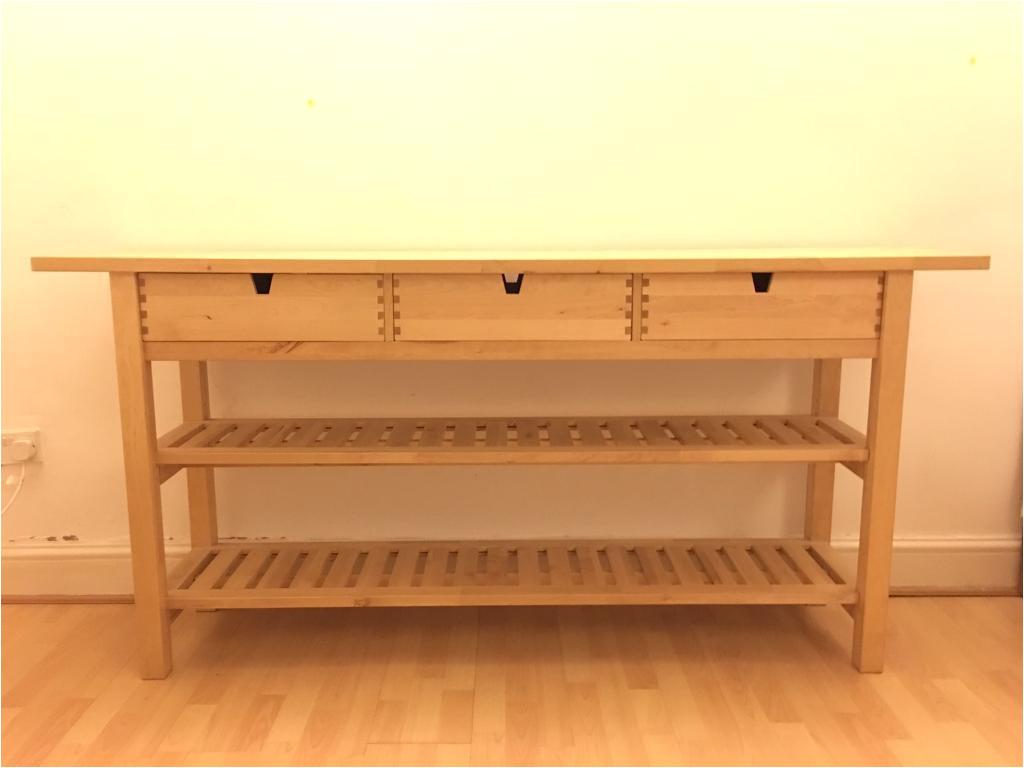 wood console table ikea
