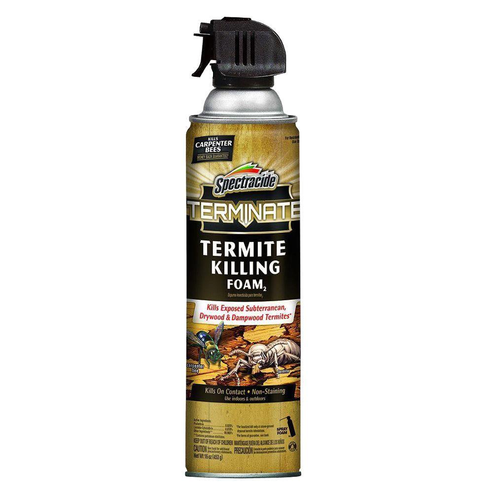 termite killing foam