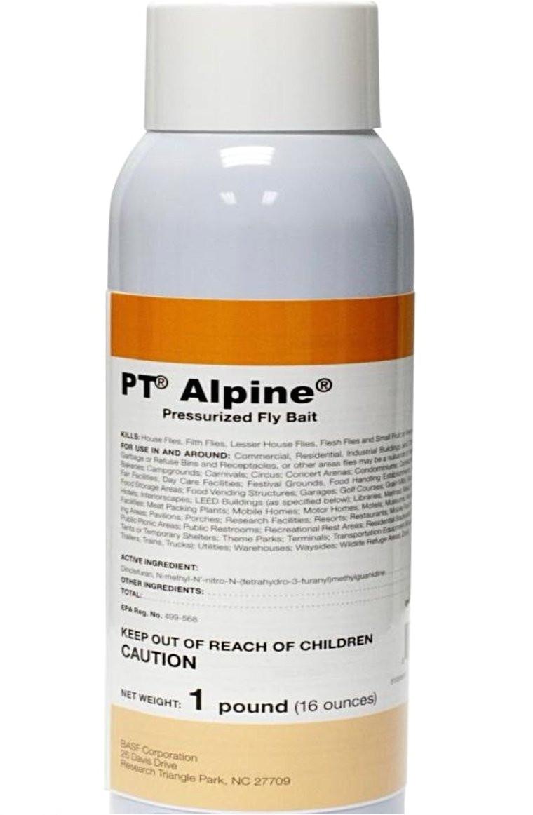 pt alpine pressurized fly bait insecticide phoenix environmental design inc