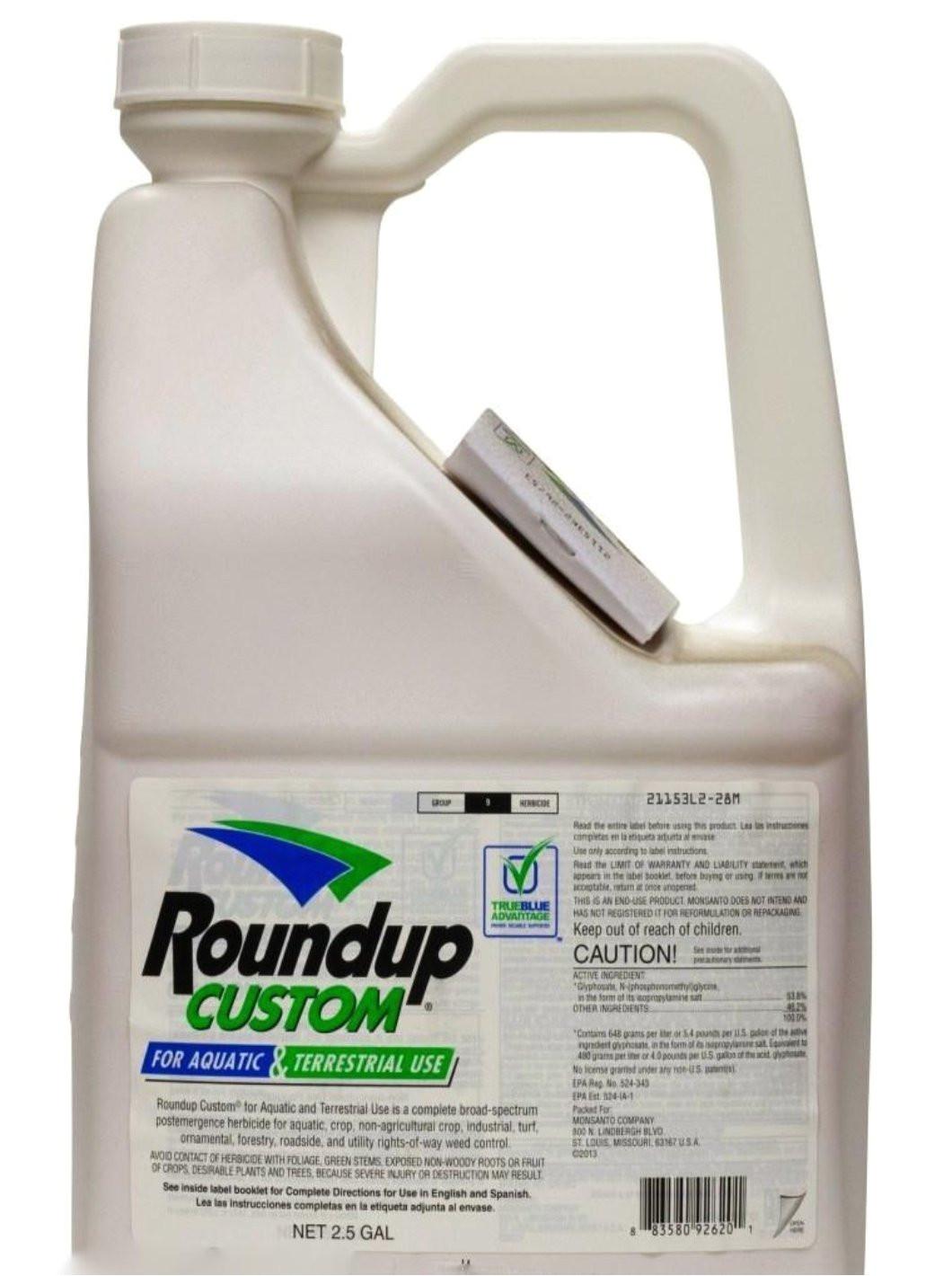 herbicide roundup custom aquatic and terrestrial weed killer herbicide