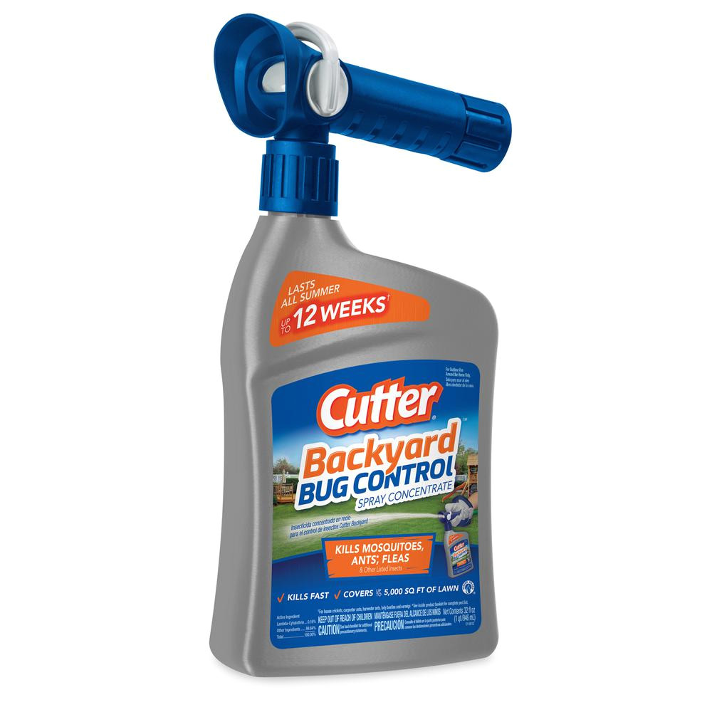 cutter 32 fl oz concentrate backyard bug control spray
