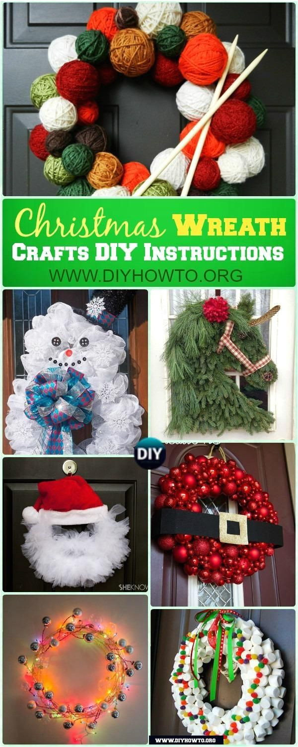 diy christmas wreath craft ideas instructions christmas wreath collection from christmas craft ideas instructions wreath