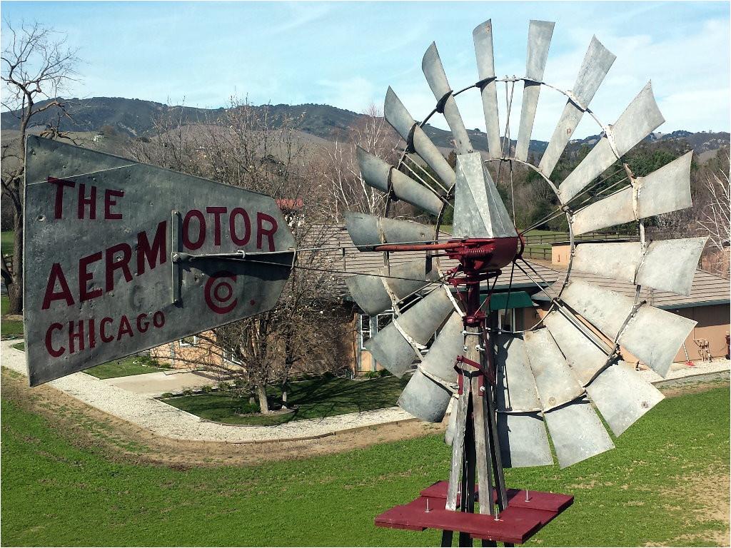 installing a rebuilt aermotor windmill