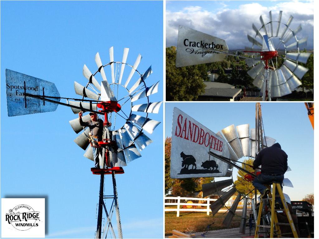 windmill tail art by rock ridge windmills