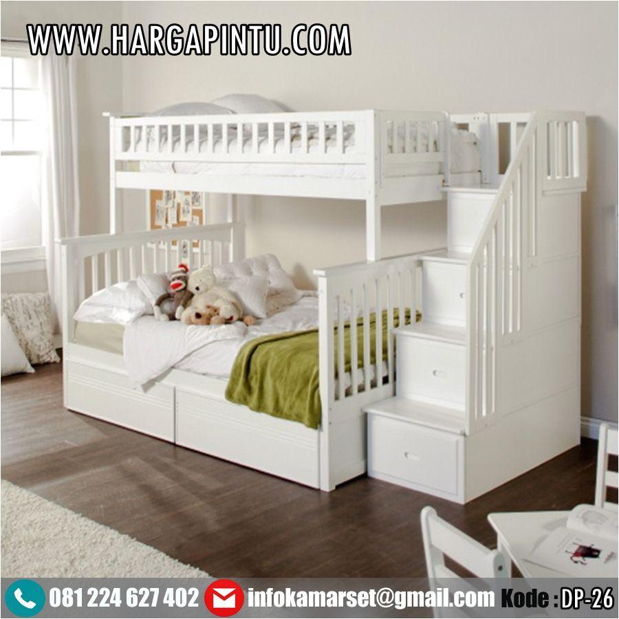 gambar desain tempat tidur tingkat anak perempuan laki laki model