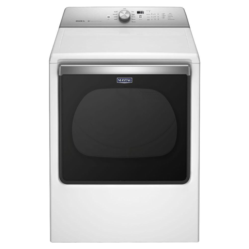 240 volt white electric vented dryer with advanced moisture sensing