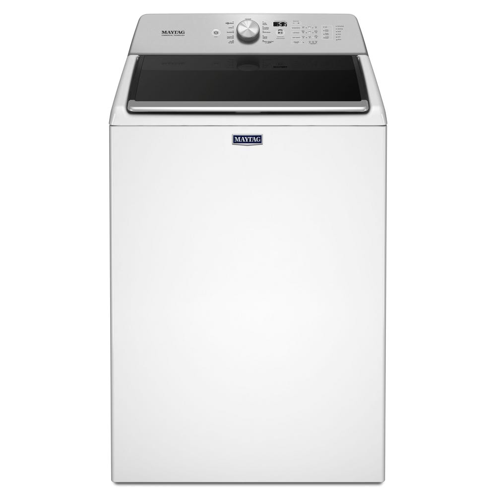 4 7 cu ft high efficiency white top load washing machine with powerwash cycle