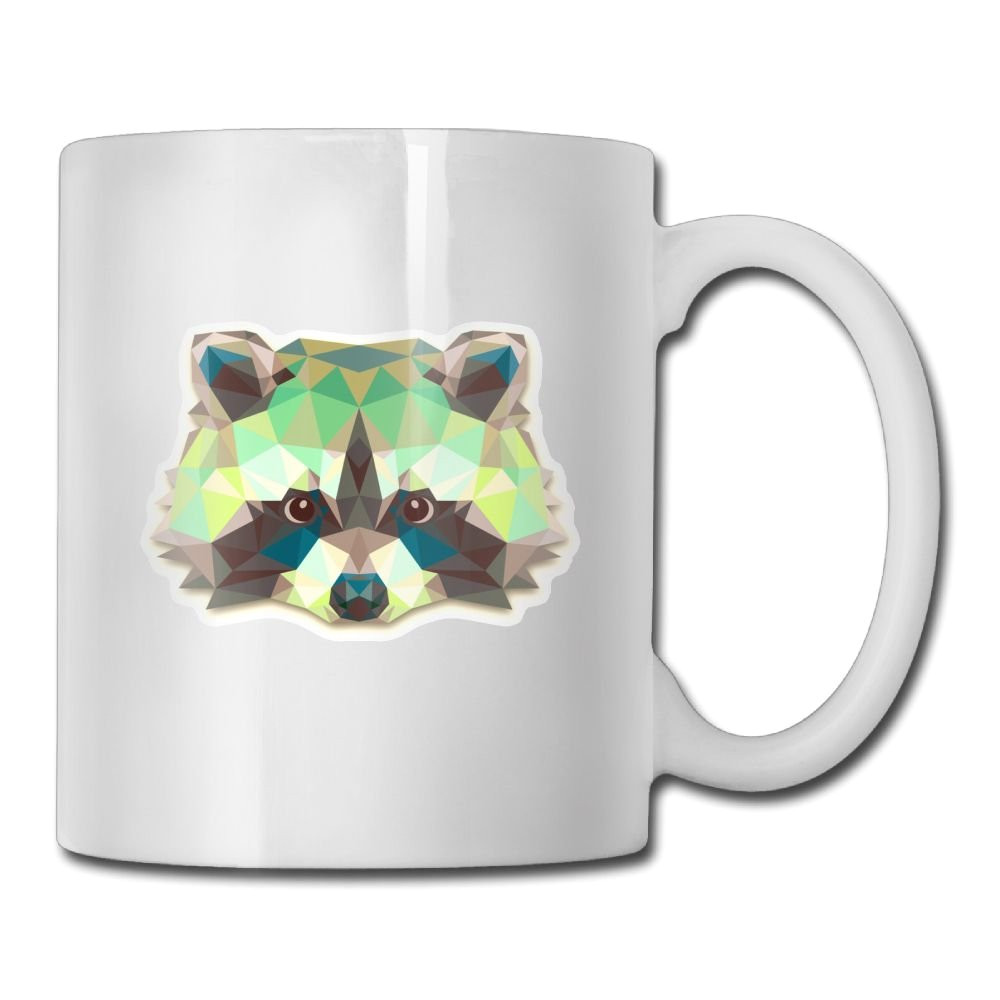 amazon com funny raccoon animals coffee mug unique twin sides printing coffee cup 11oz cell phones accessories