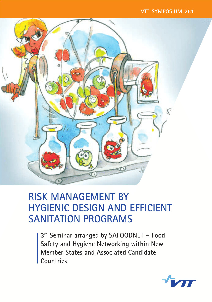 Are Heat Lamps are Designed to Reheat Food when Food Falls Under 135 Degrees Pdf Risk Management by Hygienic Design and Efficient Sanitation