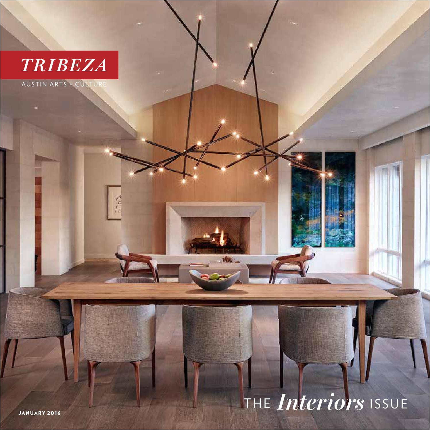 Armstrong Drop Ceiling Tile 1205 January 2016 Interiors issue by Tribeza Austin Curated issuu