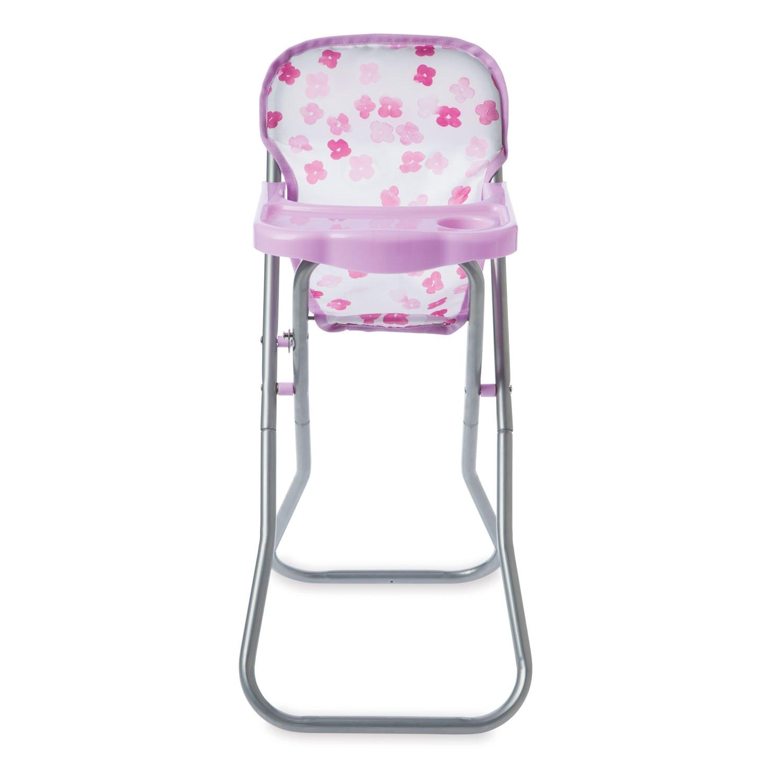 ba stella blissful blooms high chair for nurturing ba dolls playset from manhattan toy s multiple award winning baby stella collection of soft nurturing