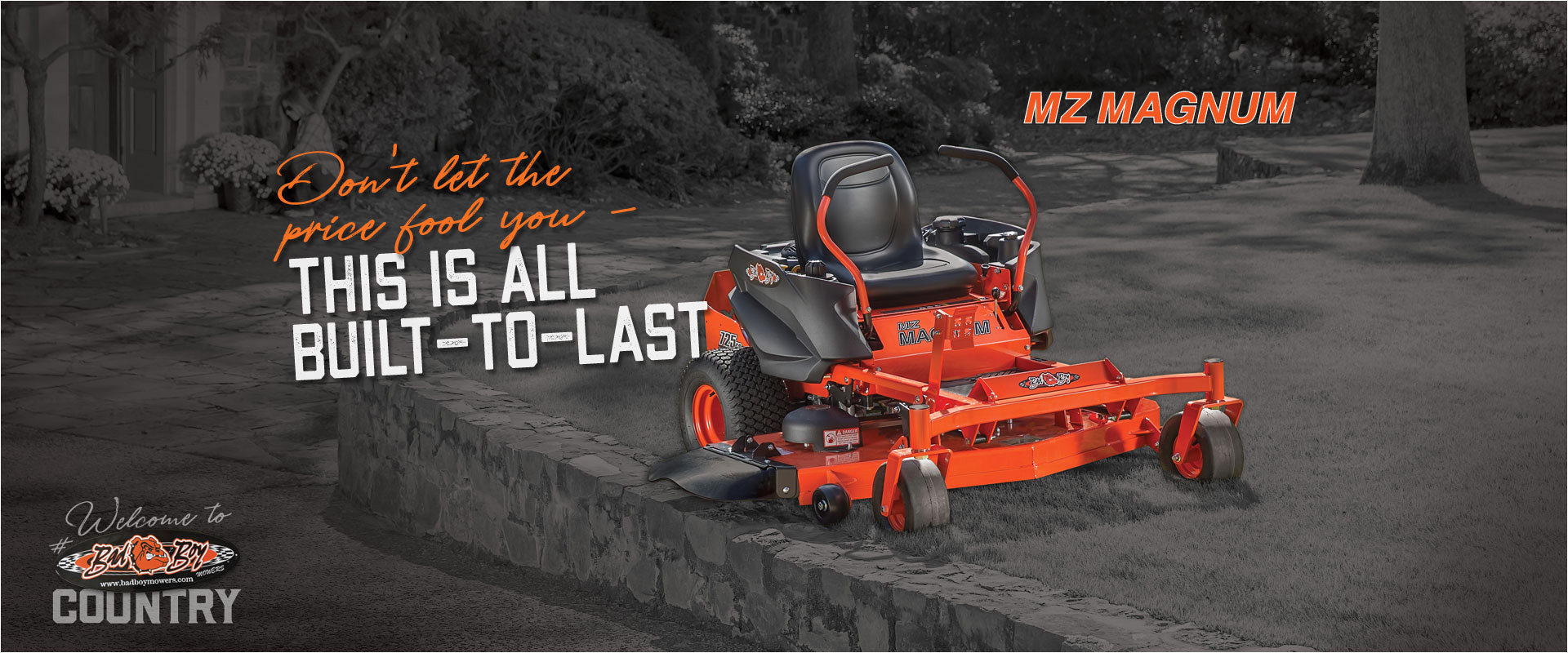bad boy mowers mz magnum zero turn mower don t let the price fool you this