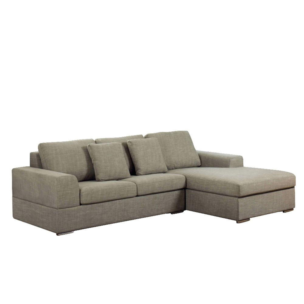 verona right hand corner sofa bed mocha dwell a 1399