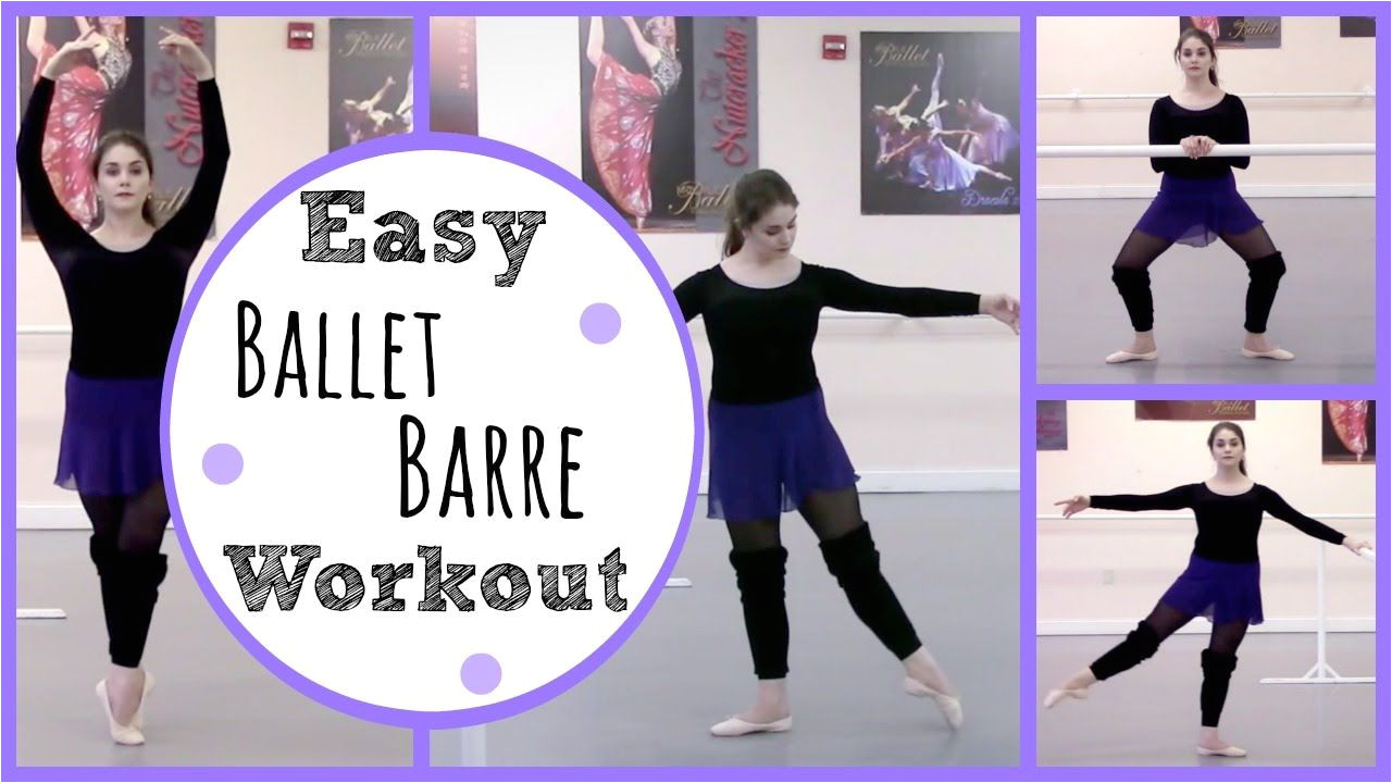 this ballet workout is perfect for beginners or for injured dancers looking to get back in