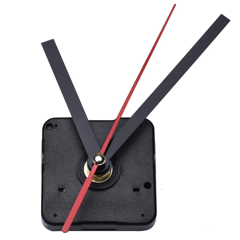 diy quartz clock movement mechanism 3 25 inch maximum dial thickness 1 2 inch total shaft length amazon co uk kitchen home