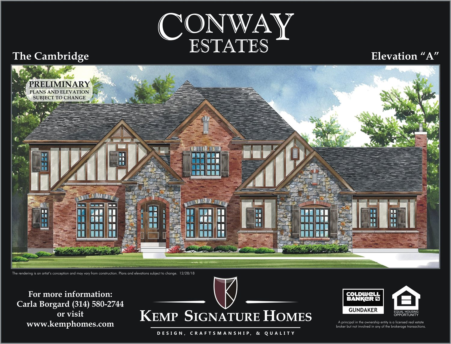 single family for sale at conway estates the cambridge 13445 conway road st louis