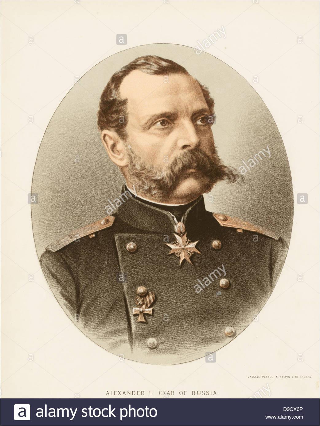 zar alexander ii 1818 1881 des russischen reiches von 1855 bis zu