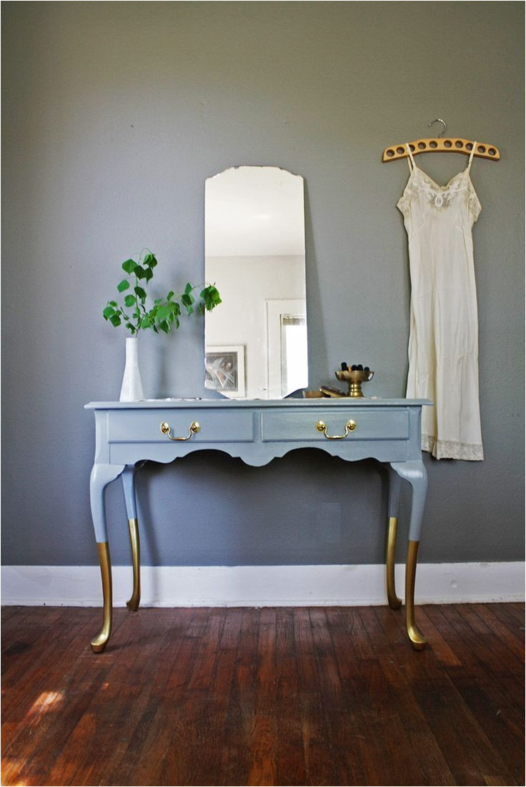 gold dipped versatile french provincial piece by hayleonvintage this is so beautiful i would love to have this as my vanity or as a table in the front hall