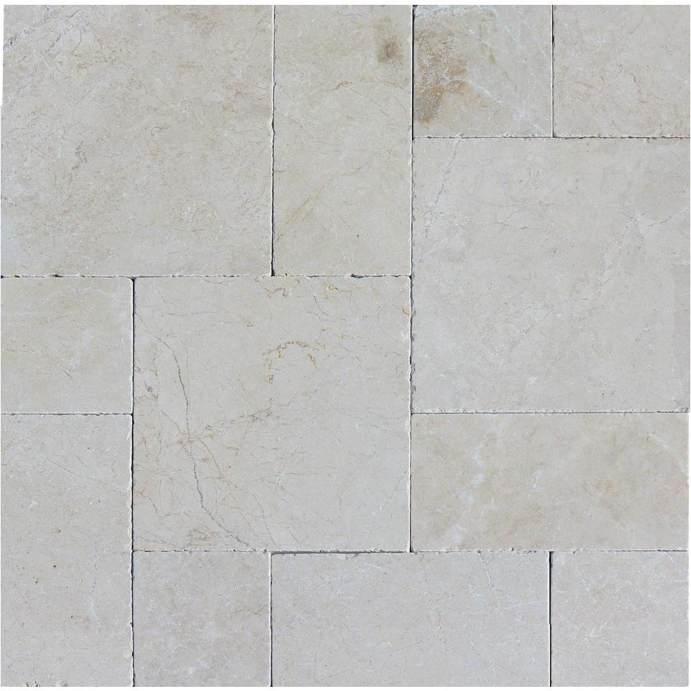 tumbled marble paver kit 10