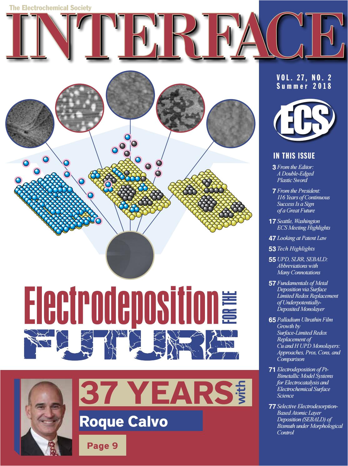 interface vol 27 no 2 summer 2018 by the electrochemical society issuu