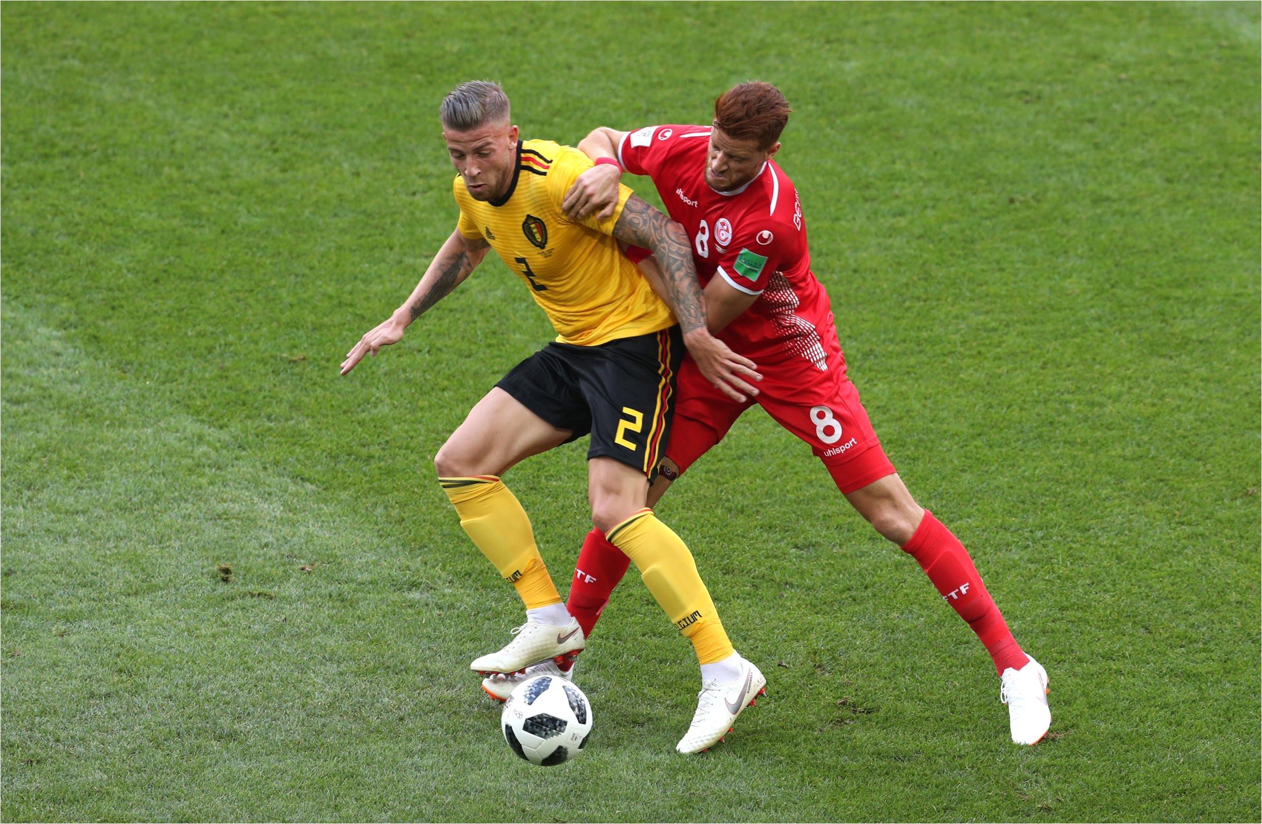 belgium vs tunisia world cup 2018 eden hazard shows qualities toby alderweireld 7 10