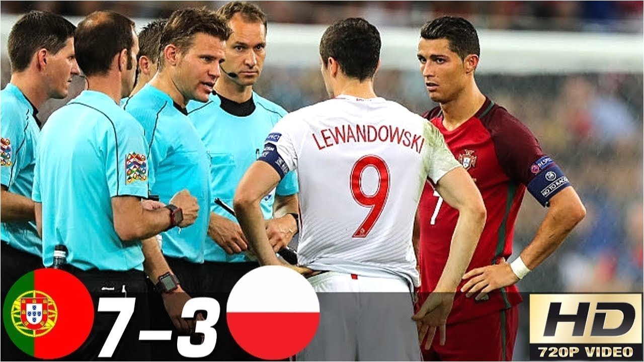 portugal vs poland 3 1 all goals extended highlights ra suma goles last matches hd
