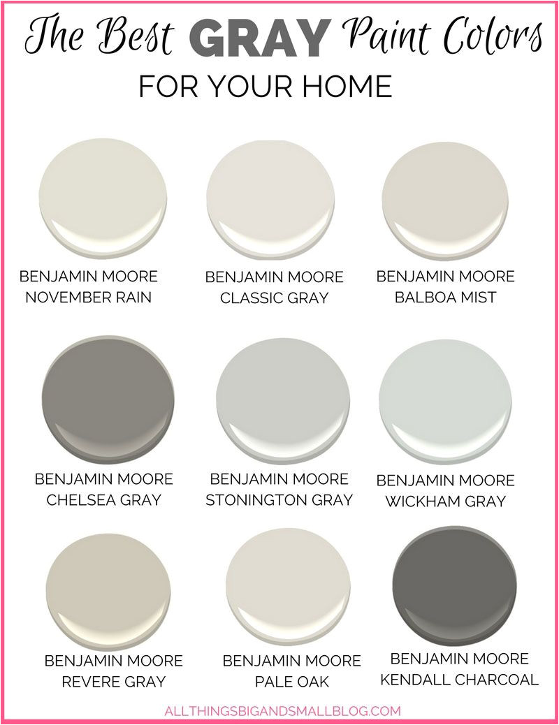 want to go with gray paint for your home all of the choices can be overwhelming these benjamin moore gray paint colors are perfect every time