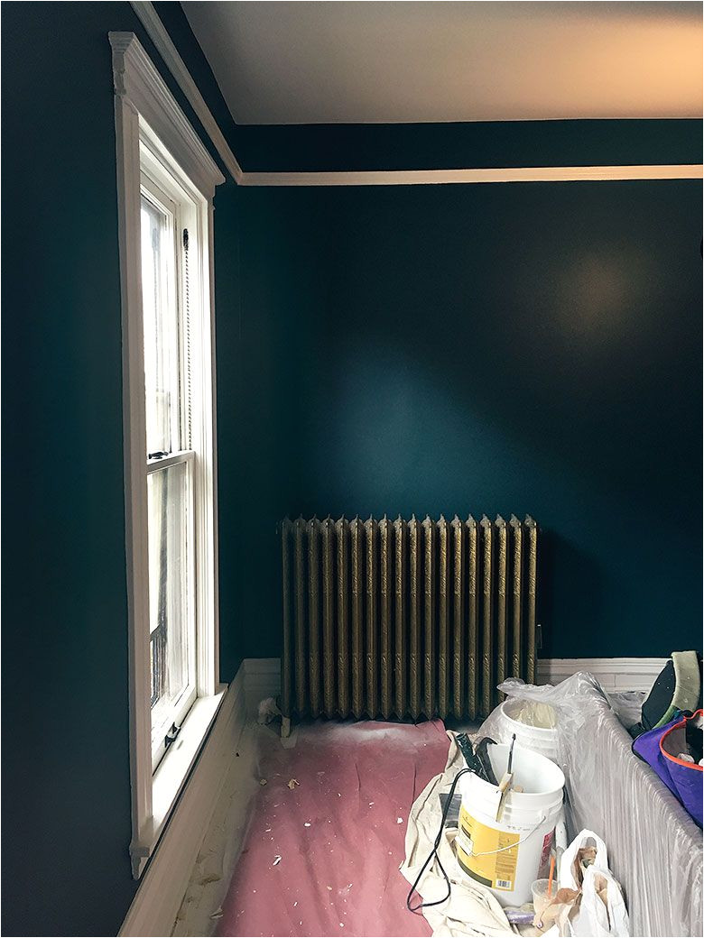 everard blue benjamin moore painted by my sponsor paintzen makingitlovelyoneroomchallenge