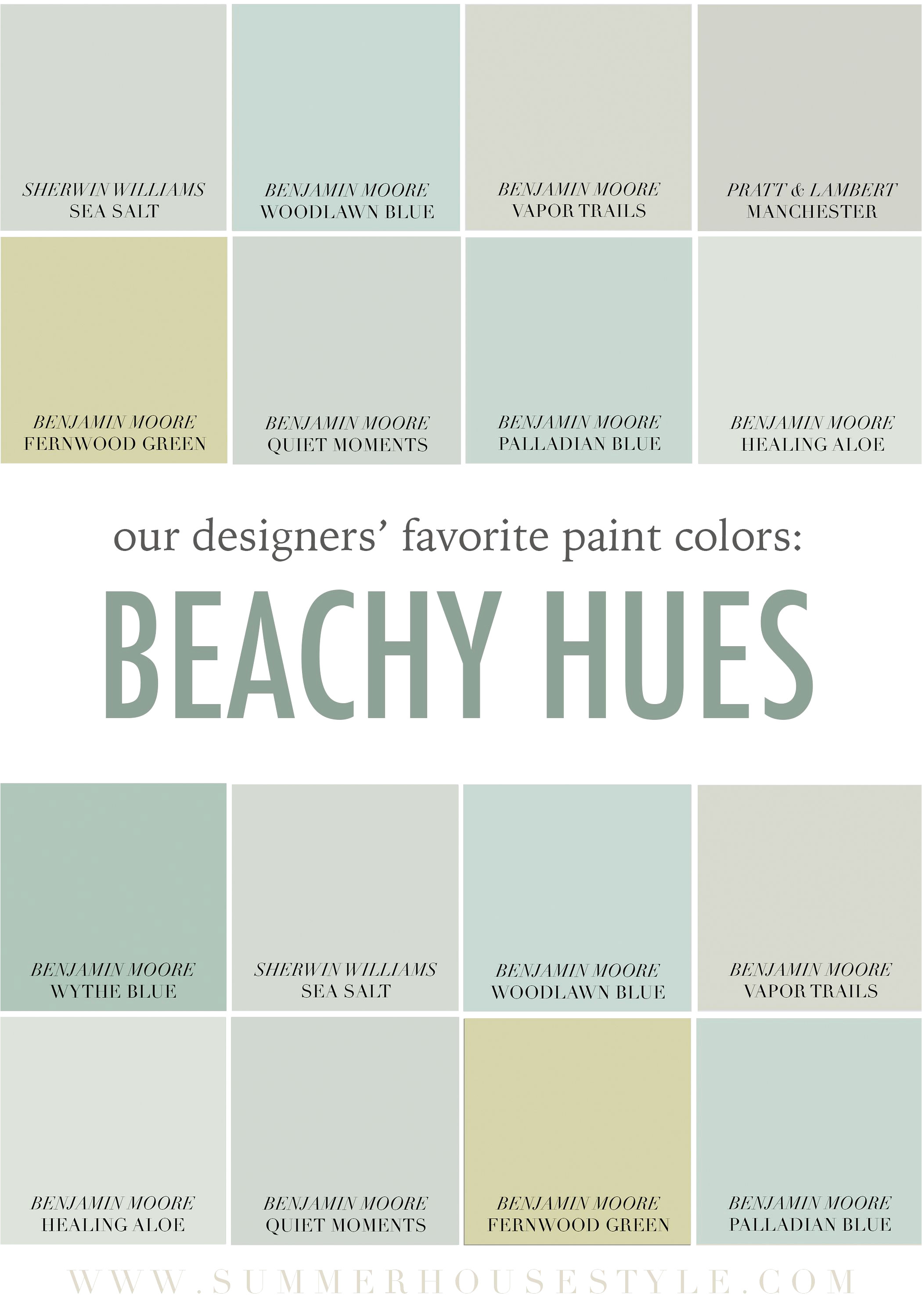 the best beachy paint colors picked by the interior designers at genial benjamin moore kentucky haze