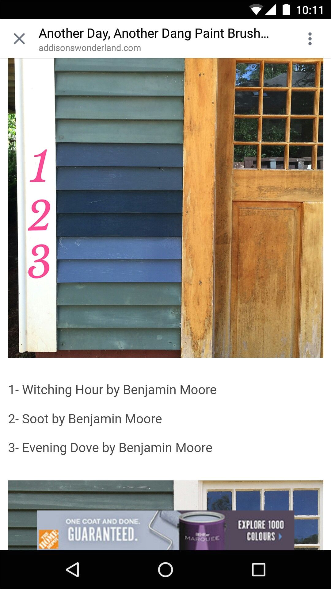 soot by benjamin moore maybe mixed with witching hour