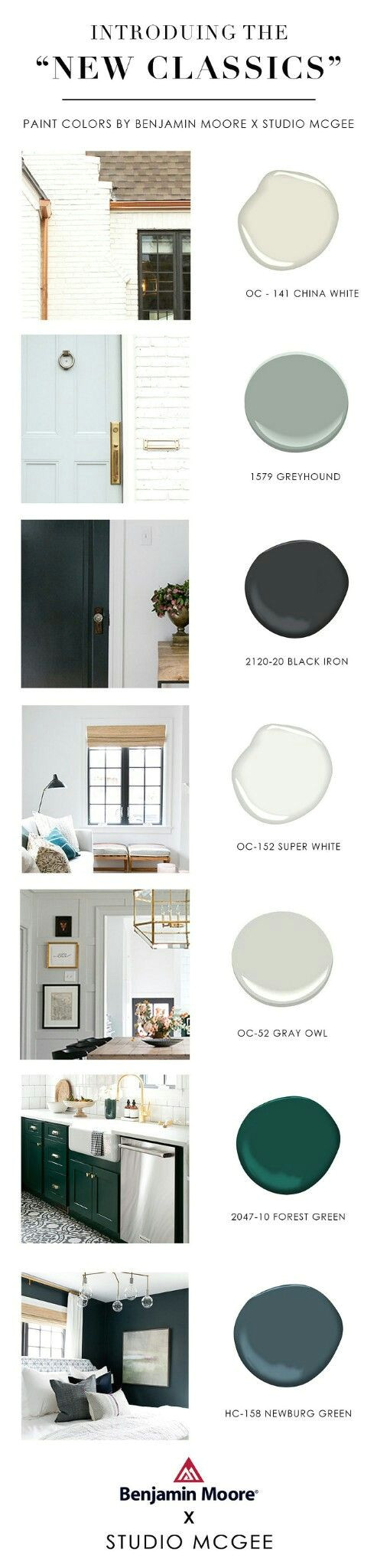 get the look new classic benjamin moore colors