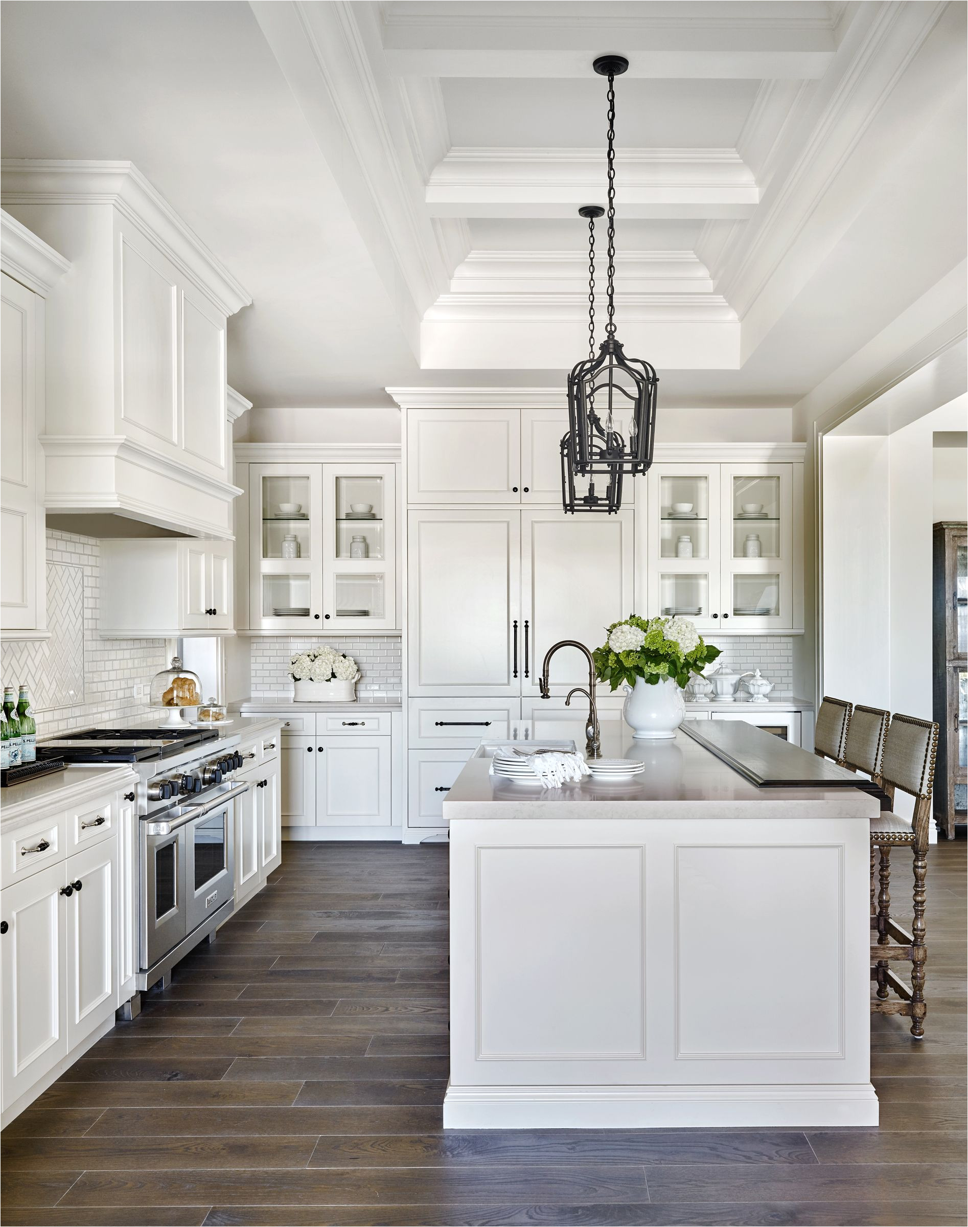 i want this exact layout of island opposite stove whisper rock traditional calvis wyant custom homes scottsdale az