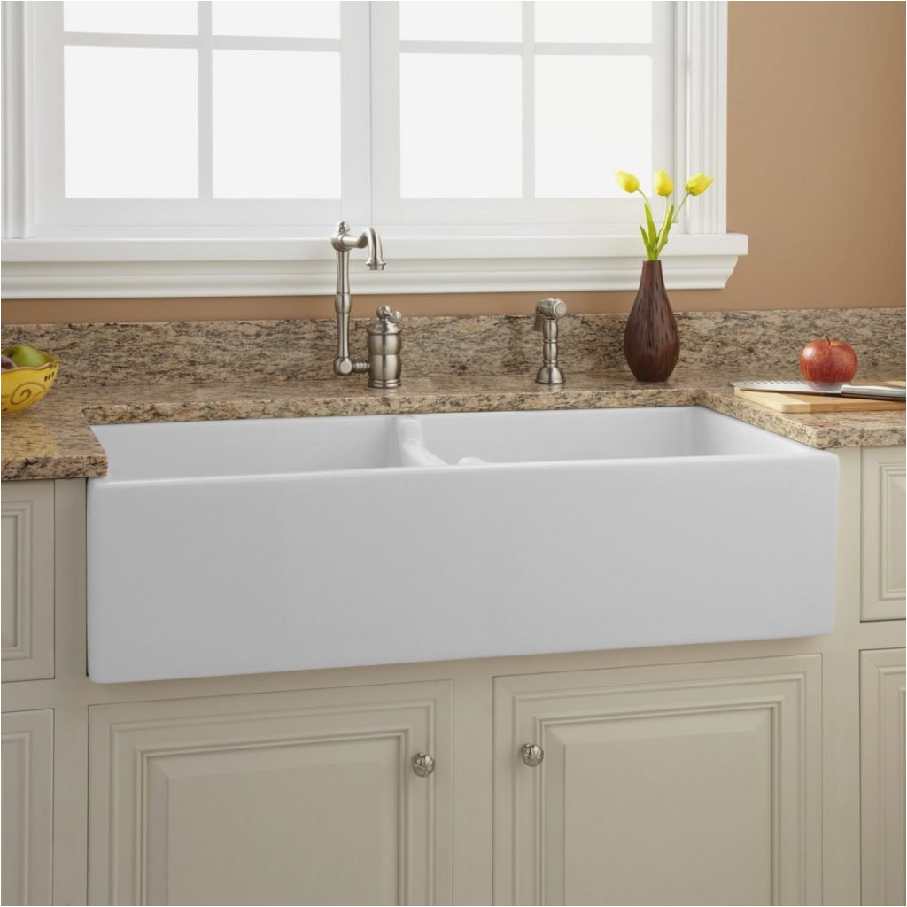 43 risinger double bowl fireclay farmhouse sink white kitchen high end kitchen sinks and faucets 1024x1024