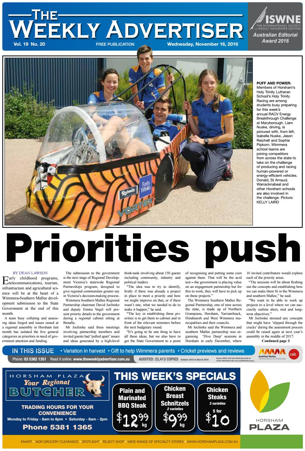 the weekly advertiser wednesday november 16 2016 by the weekly advertiser issuu