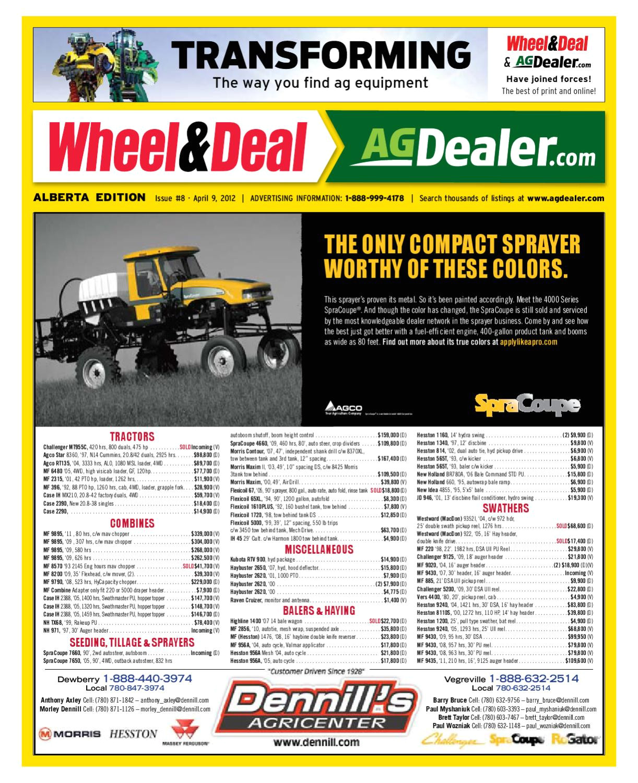 Best Log Splitter Under $1000 Wheel Amp Deal Alberta April 9 2012 by Farm Business