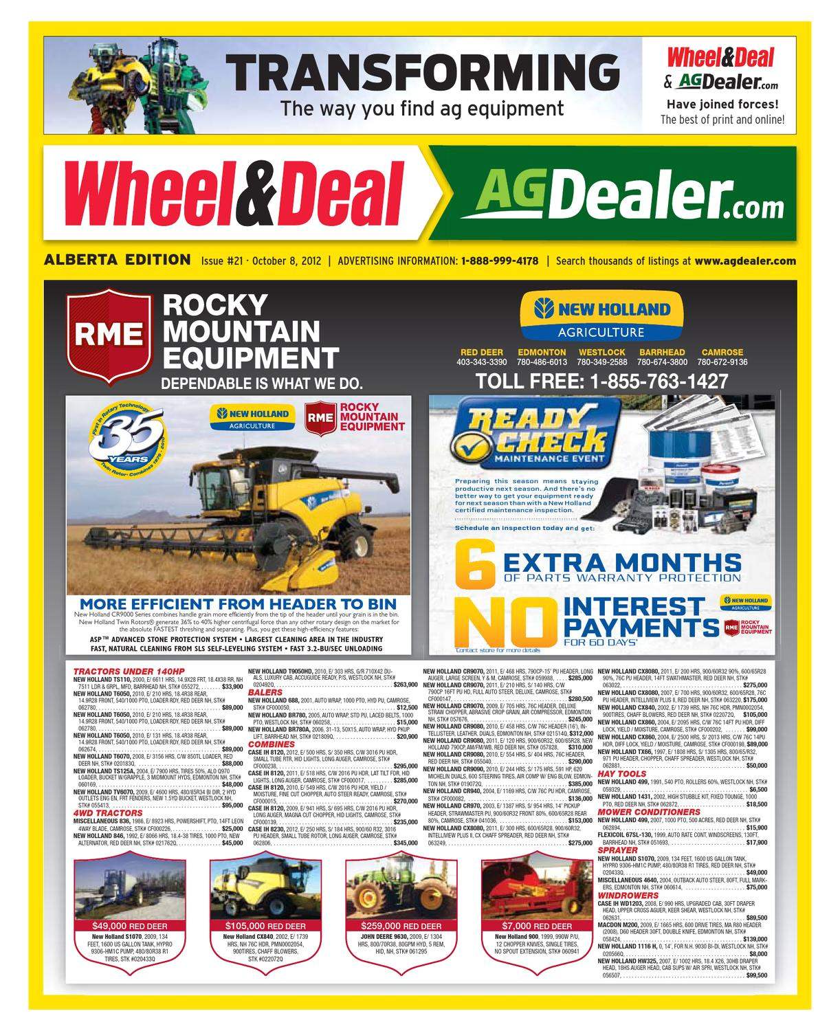 wheel amp deal alberta october 8 2012 by farm business communications issuu