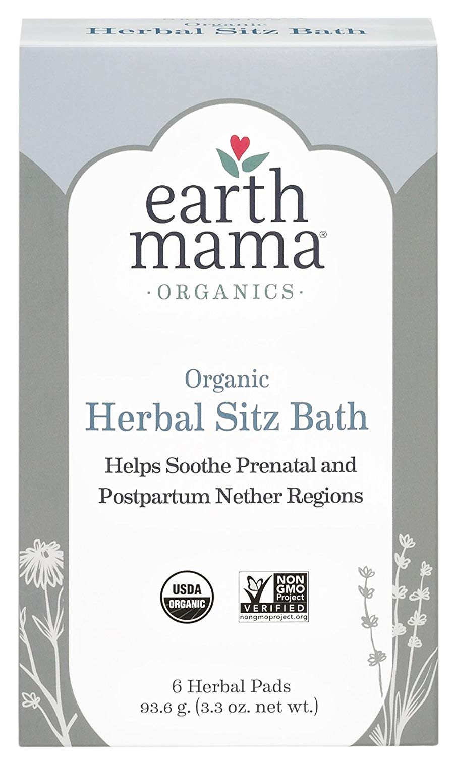 earth mama postpartum bath herbs pads pack of 6 amazon co uk health personal care