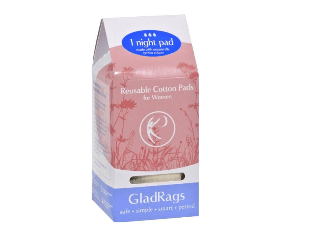 glad rags for postpartum bleeding