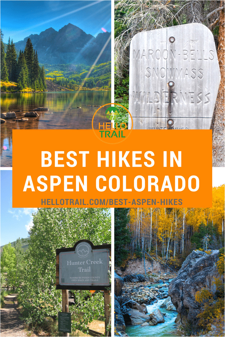 explore 10 of the best hikes in aspen colorado and take in the amazing fall colors or spring wildflower blooms you ll enjoy the beauty of maroon bells