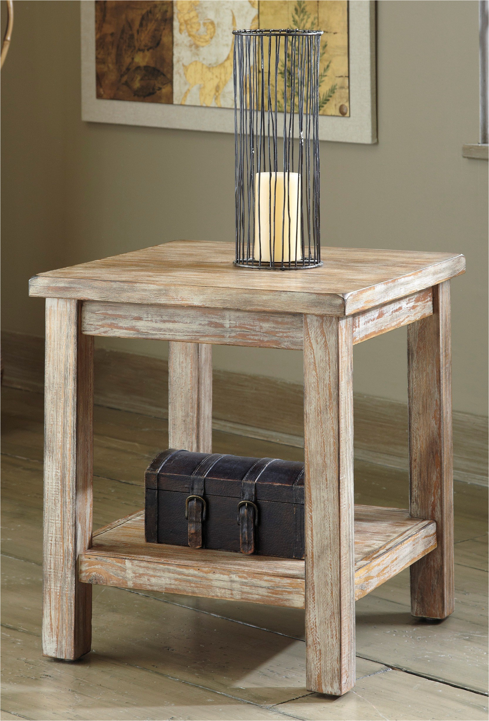Big Lots Rustic Side Table Adinaporter