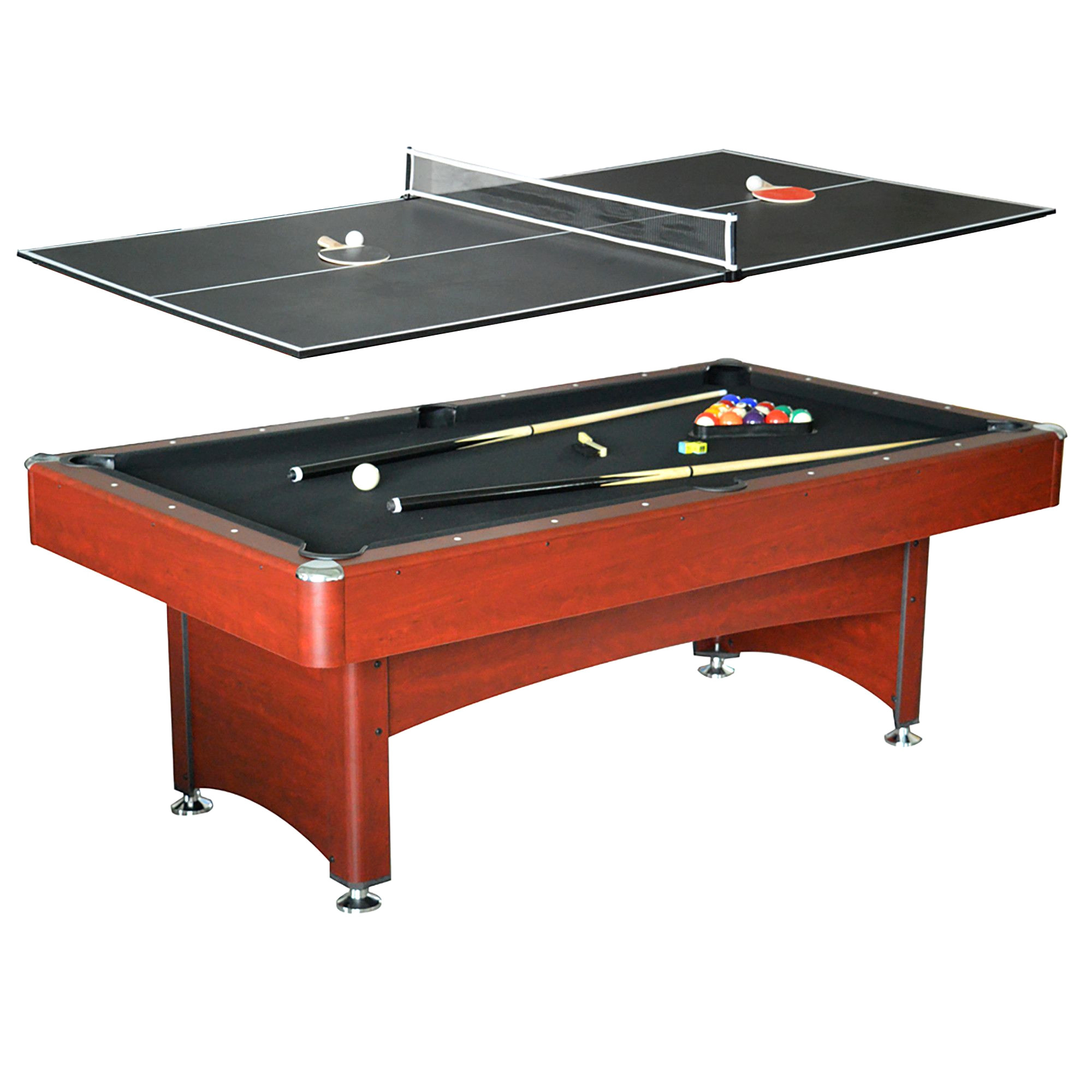 pool table schon carmelli ng4023 bristol 7 ft pool table w table tennis top