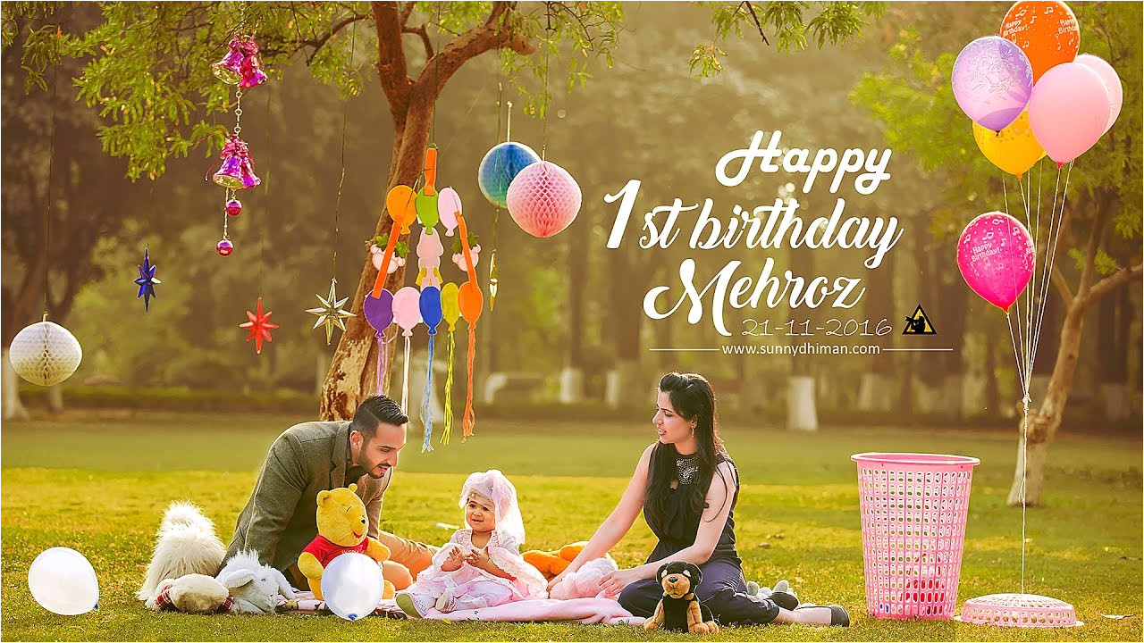 Birthday Gift for 13 Year Girl Indian First Birthday Baby Girl Mehroz Sunny Dhiman Photography Youtube